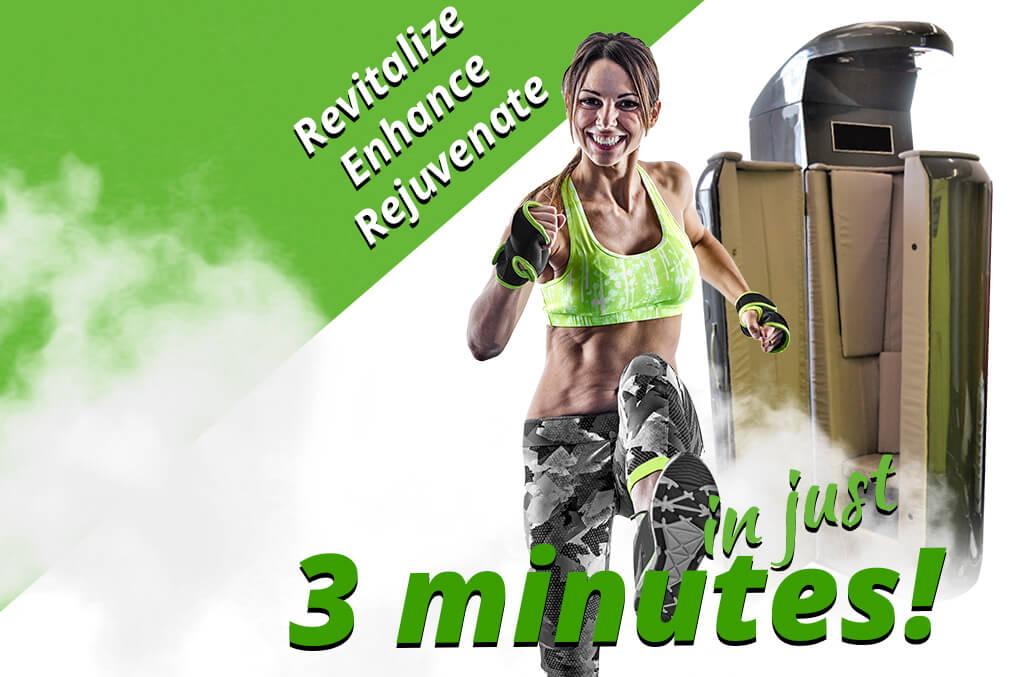 Revitalize, Enhance, Rejuvenate in only 3 minutes